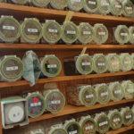 漢方薬の棚