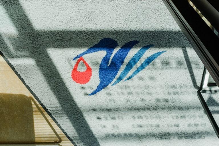 青い鳥のマーク